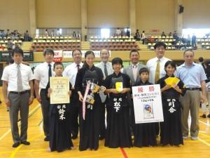 優勝 静岡県選抜